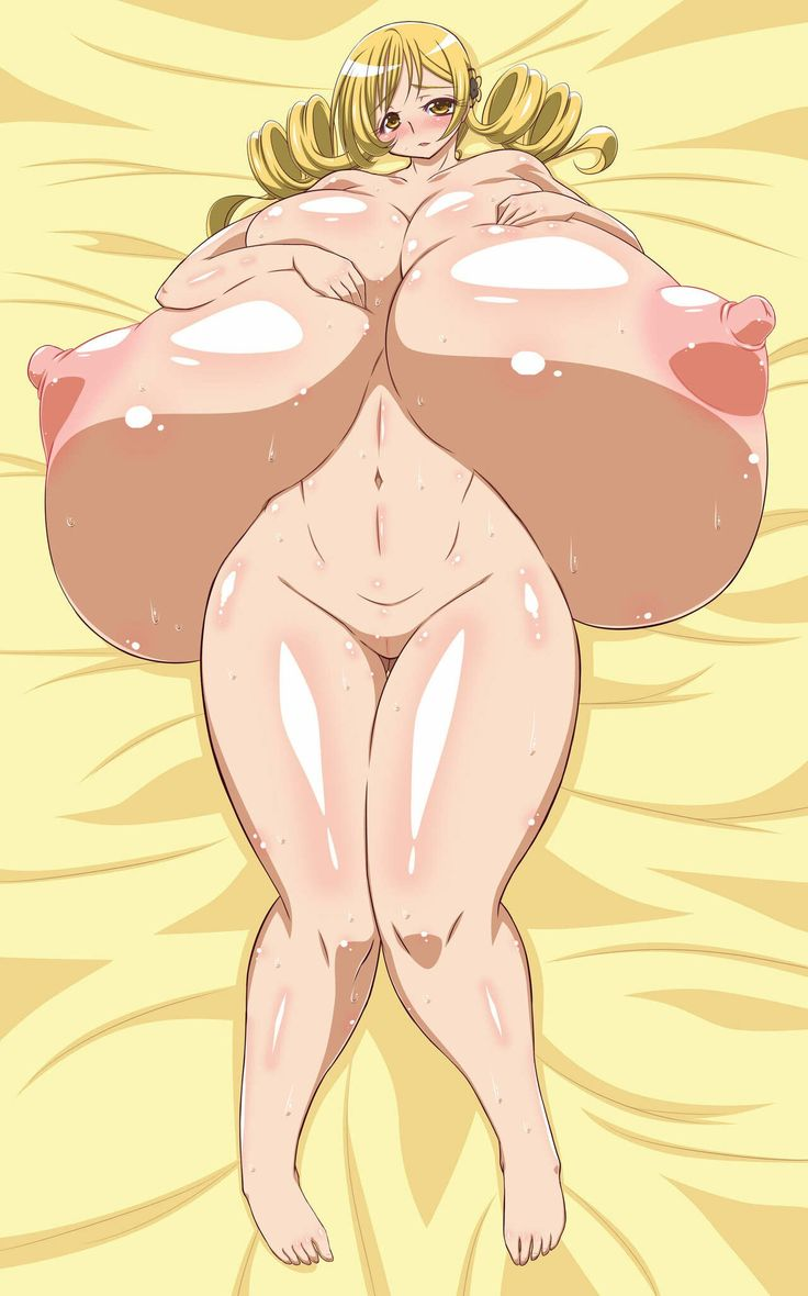 expansion breast Anime girl