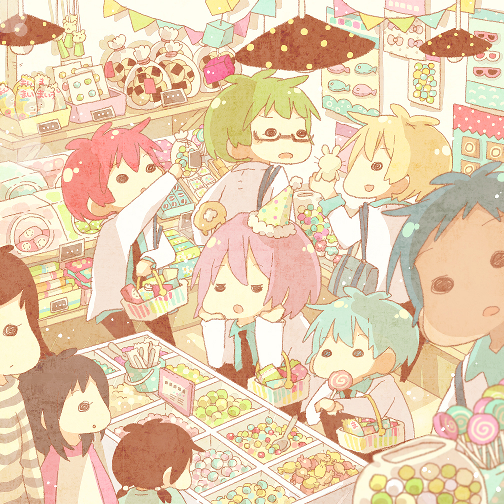 shop candy Anime about