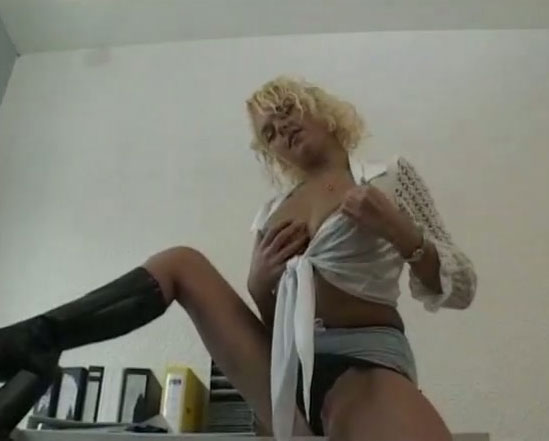 makeout Asian secretary curly