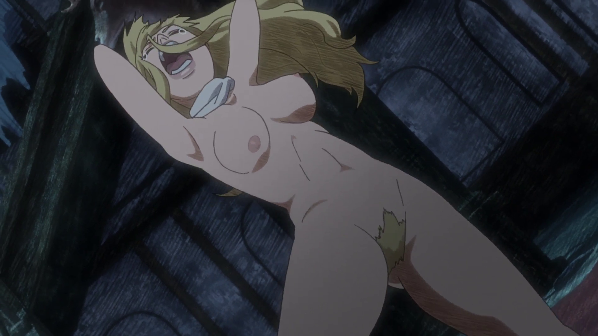 full nudity with Anime frontal