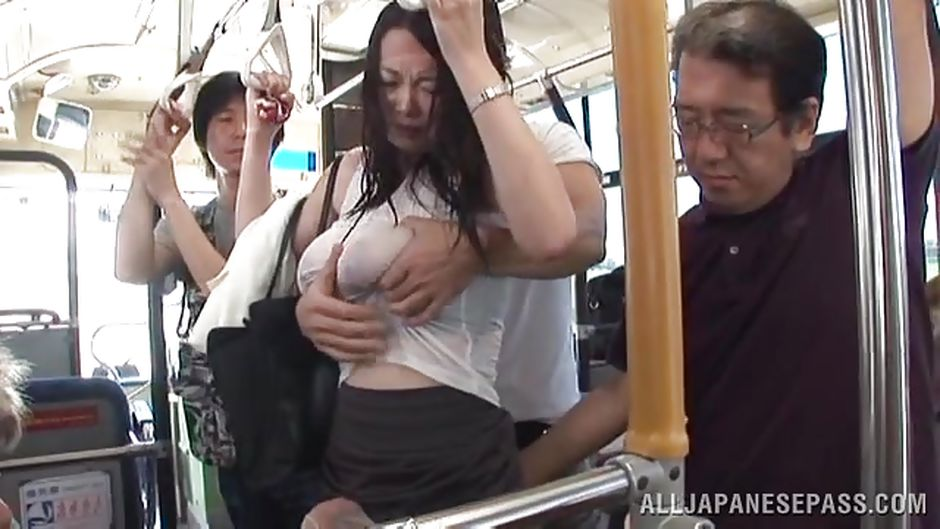Sex in the bus in japan