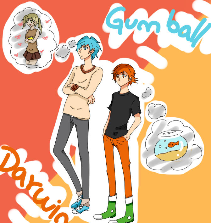 an gumball was world If anime of amazing
