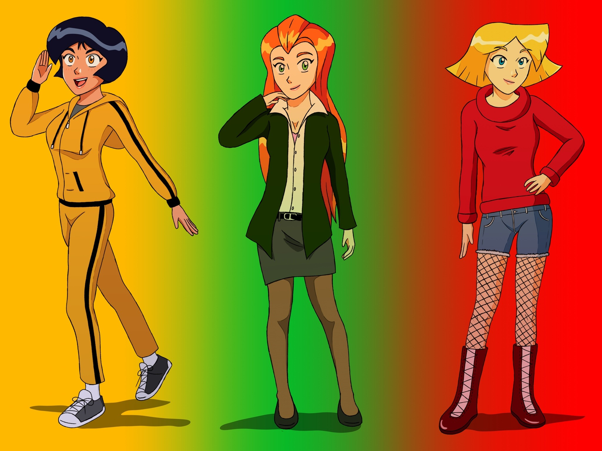 an Is totally anime spies