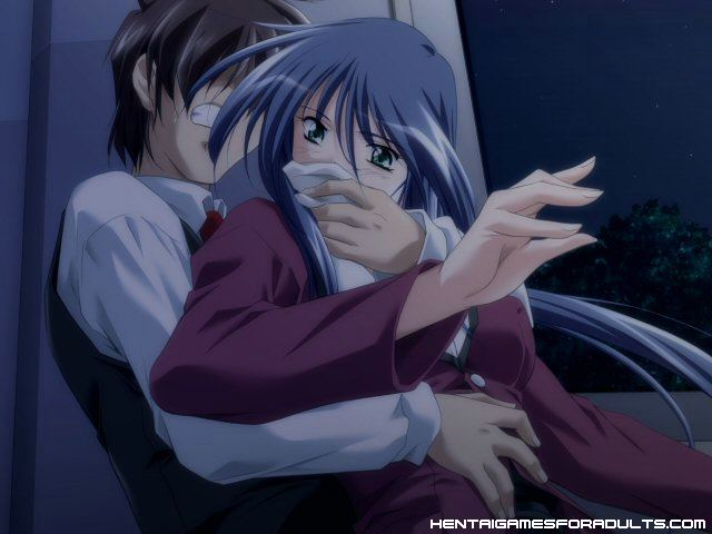 and up gagged tied girl Anime