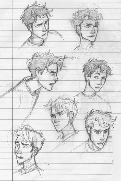 male expressions Anime