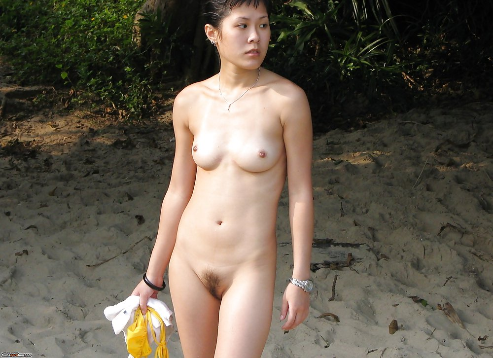 classic outdoor Asian wife