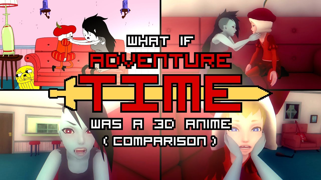 game posters a adventure anime If 3d was time