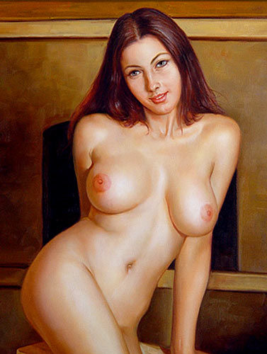 oil china Nude chinese paintings