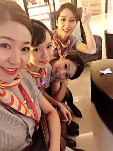 orgy Chinese airline