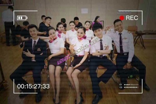 airline orgy video Chinese