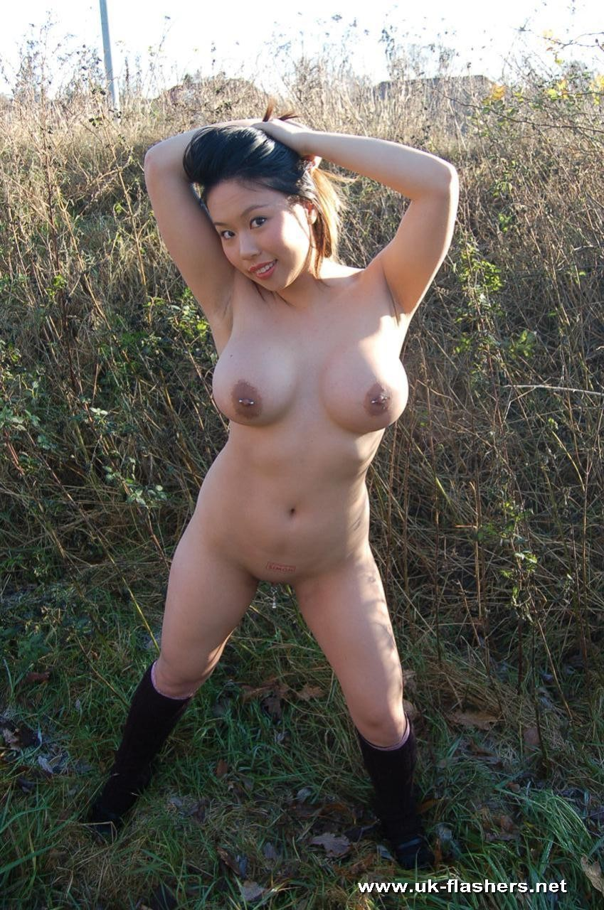 housewife Chubby outdoor asian