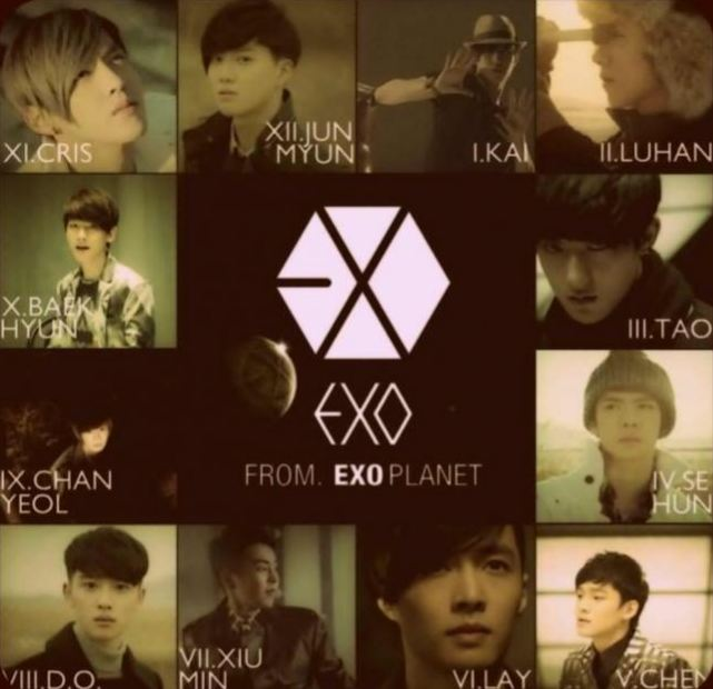 in korean Exo are we one