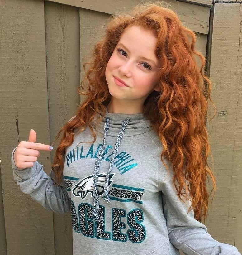 young outdoor asian Redhead