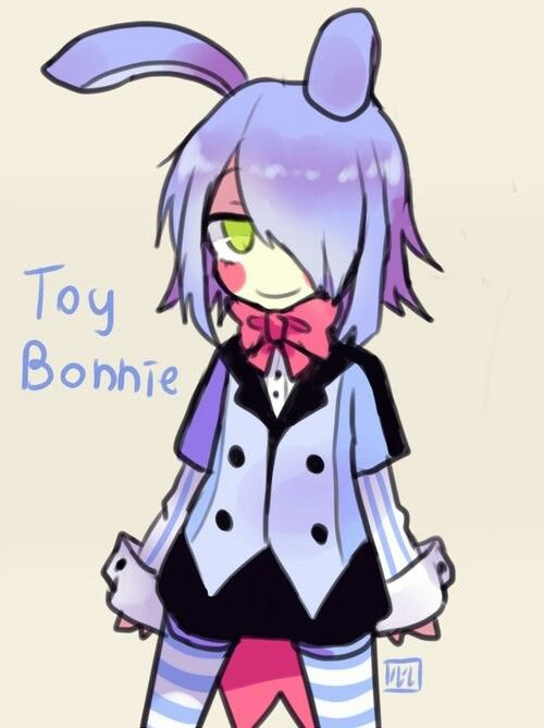 at Five toy bonnie anime nights